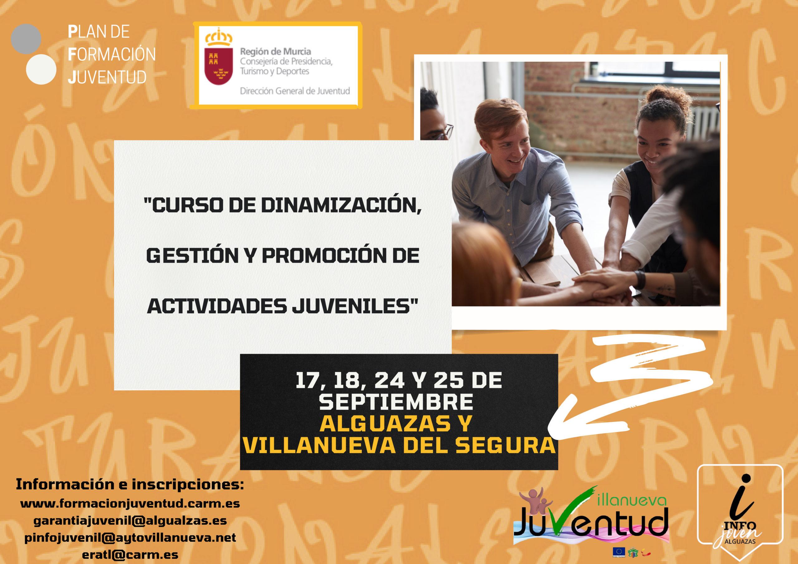 """Curso de """"Dinamización, Gestión y Promoción de Actividades Juveniles"""""""